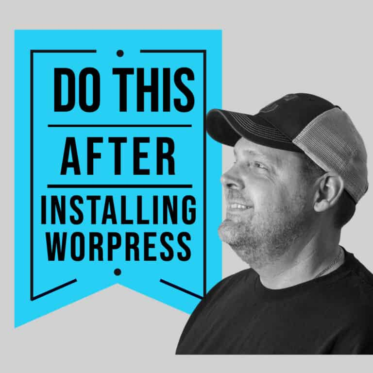 top 12 things to do after installing wordpress