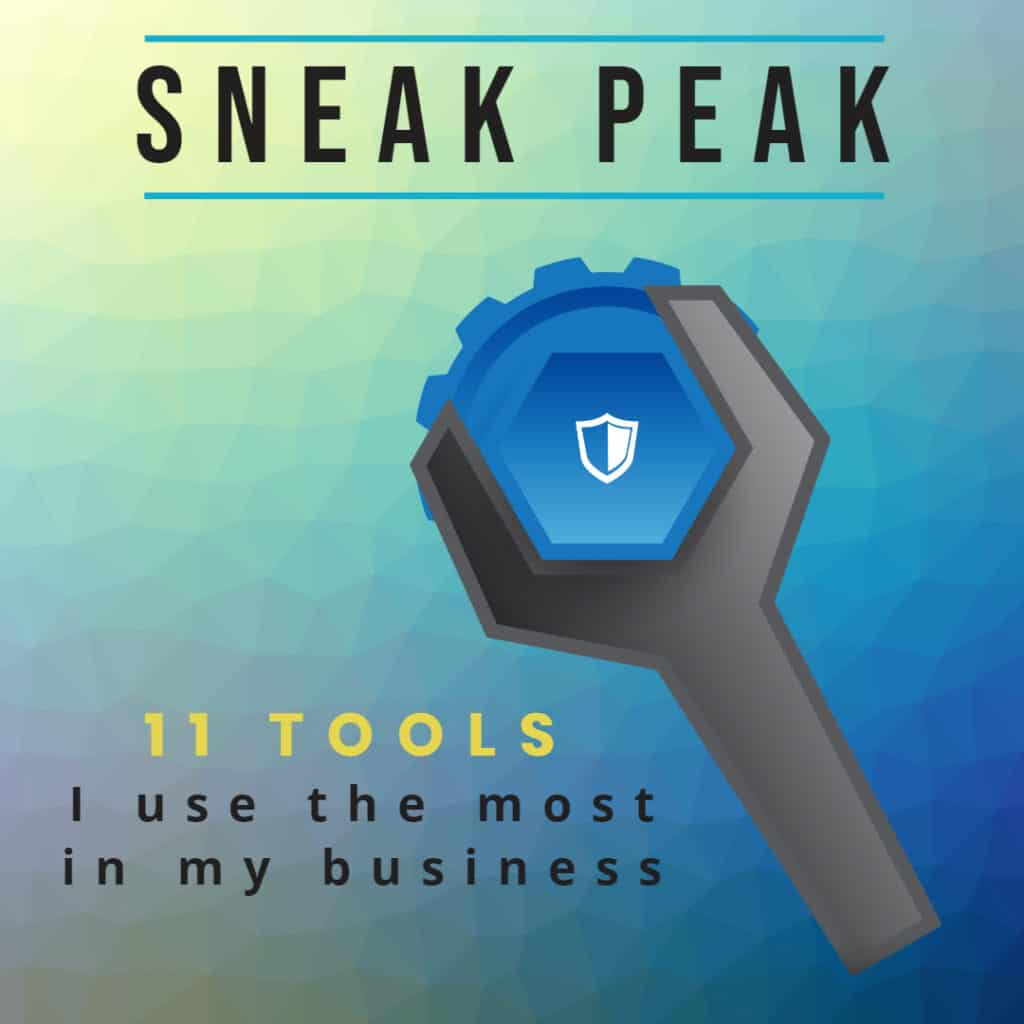 11 tools I use the most in my business